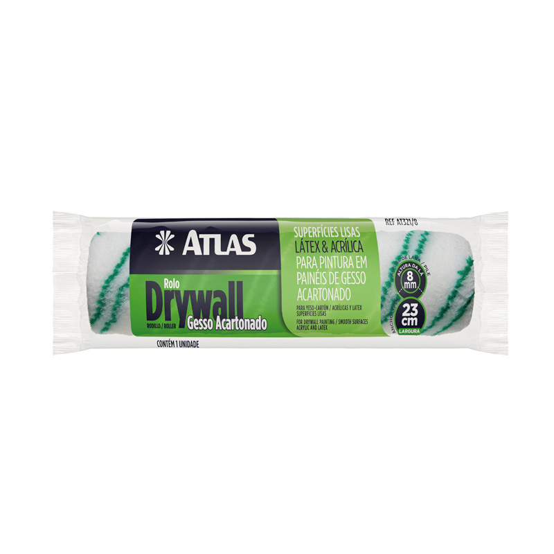 Rolo Drywall 23Cm 3218 Atlas
