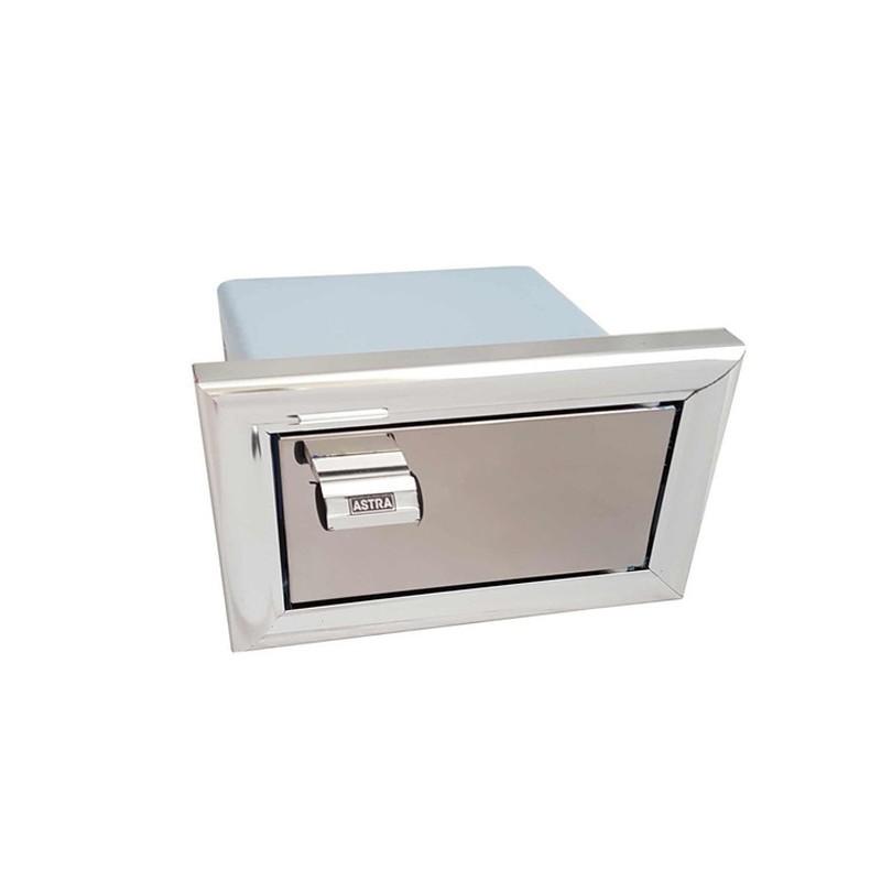 Saboneteira Aluminio De Embutir Lb1 Astra