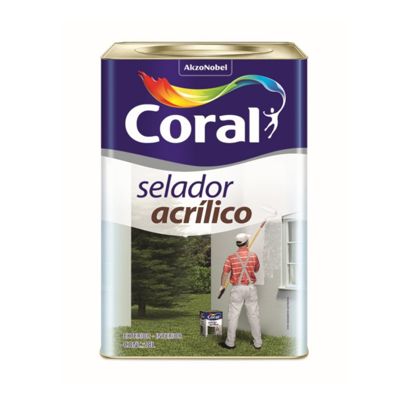 Selador Acrilico 18L Coral