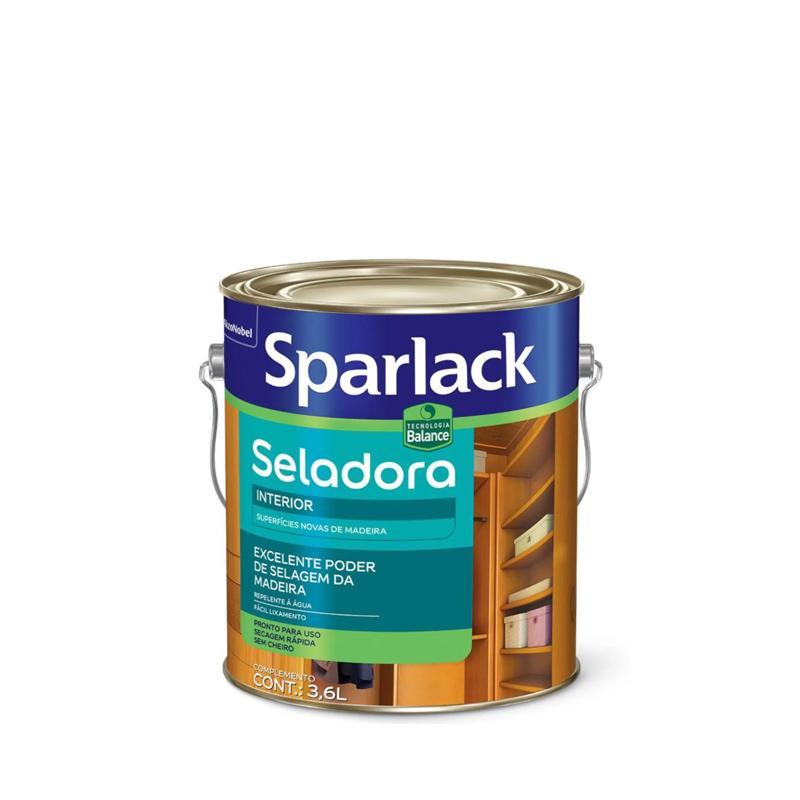 Selador Para Madeira Eco Balance 3,6L Sparlack
