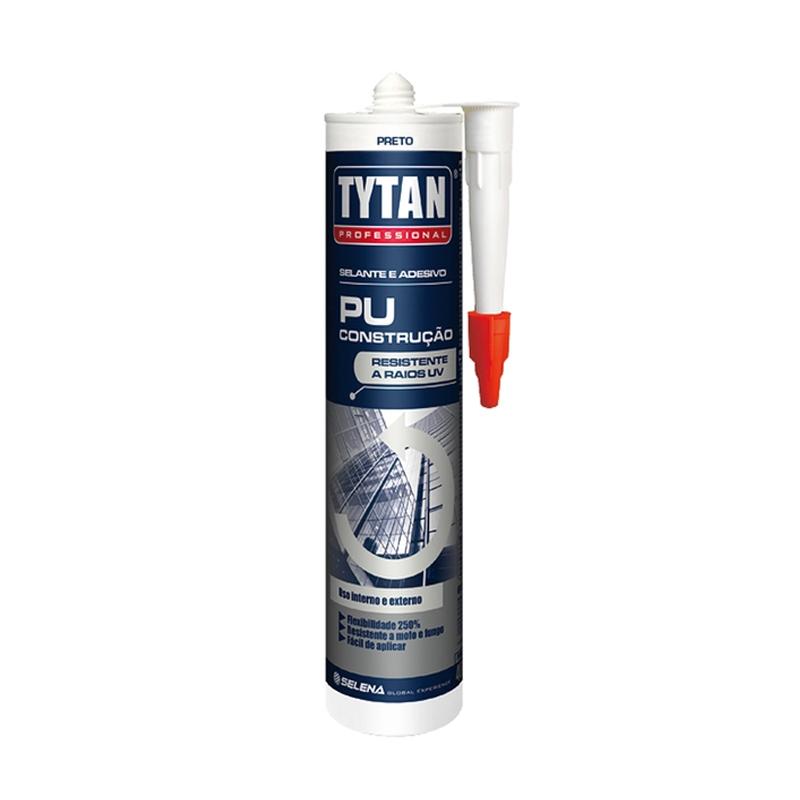 Selante PU Construção Preto 400G Tytan