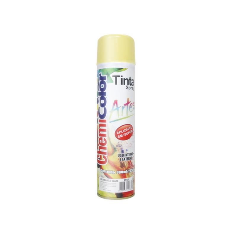 Spray Chemicolor 380mL Artes Amarelo Claro
