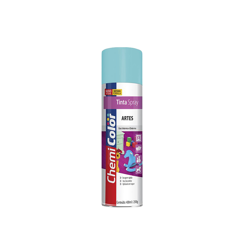 Spray Chemicolor 380mL Artes Azul Claro