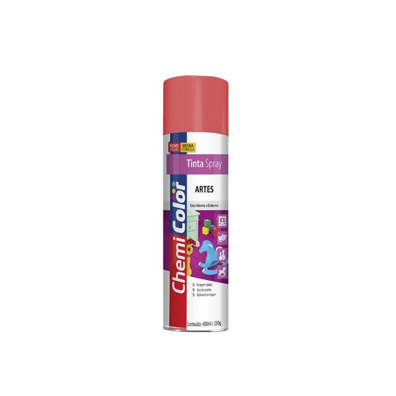 Spray Chemicolor 380mL Artes Vermelho