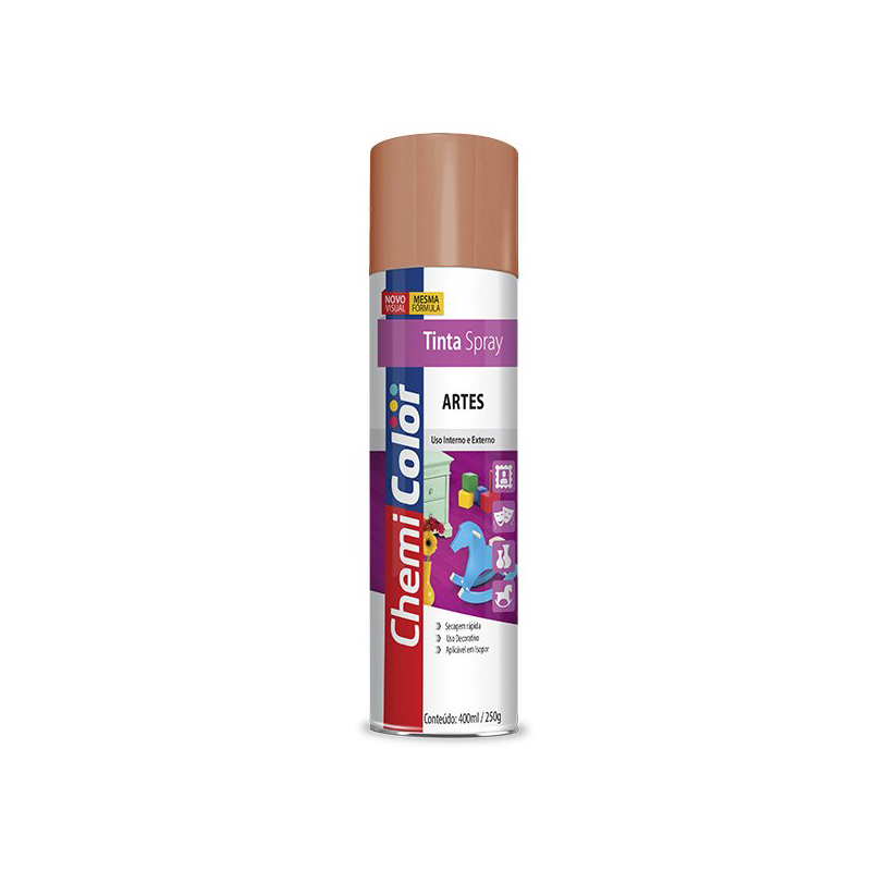 Spray Chemicolor 400mL Artes Bronze