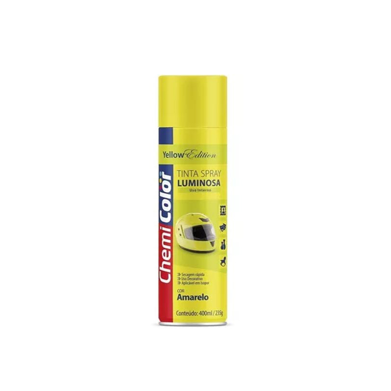 Spray Chemicolor 400mL Luminosa Amarelo