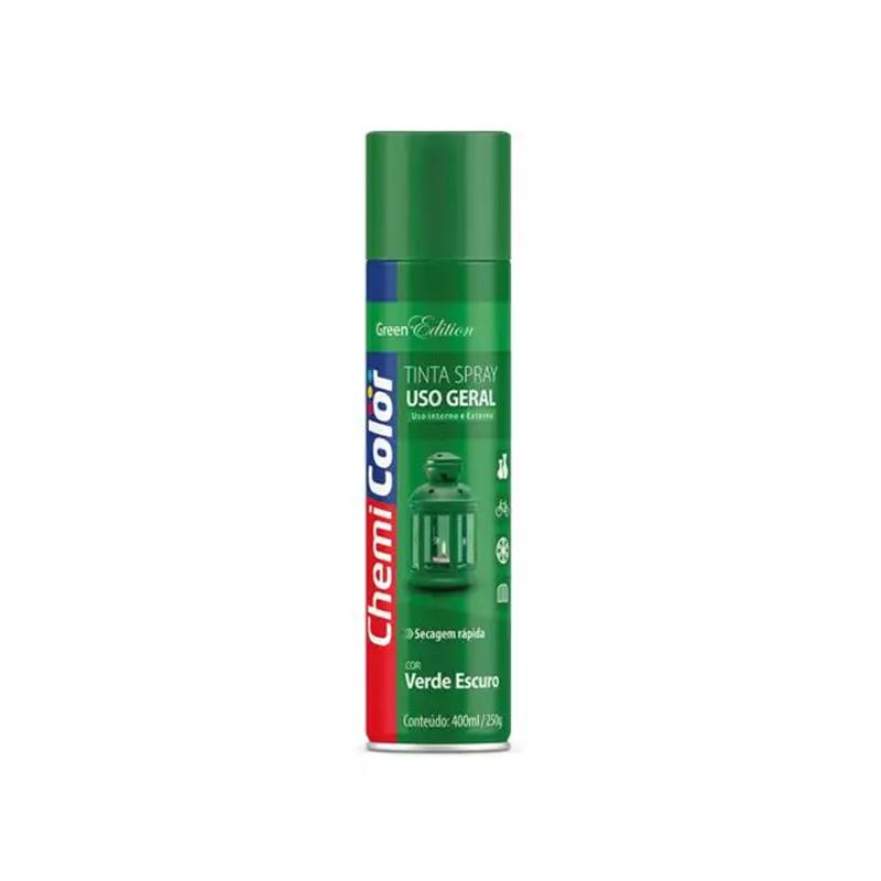 Spray Chemicolor 400mL Verde Escuro