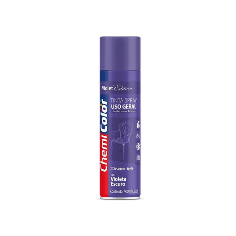 Spray Chemicolor 400mL Violeta Escuro