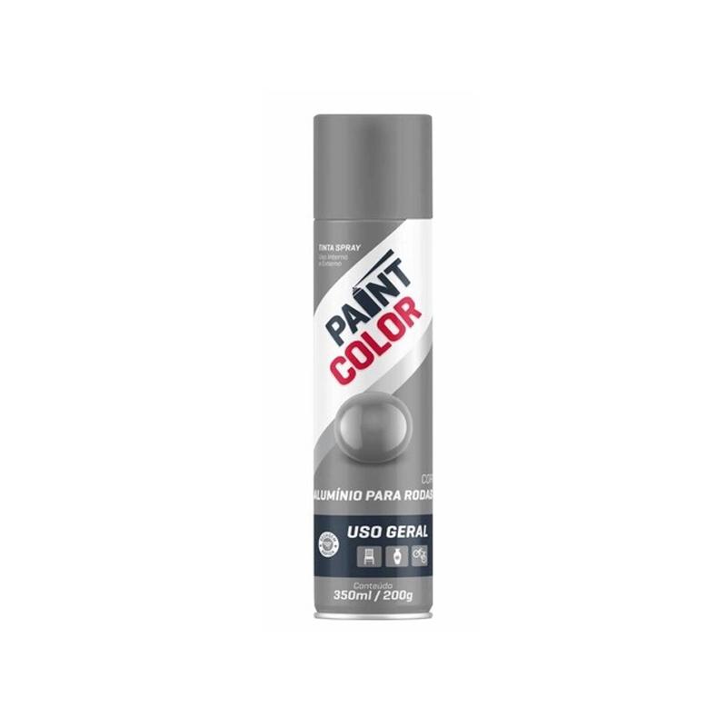 Spray Paintcolor 350mL Aluminio