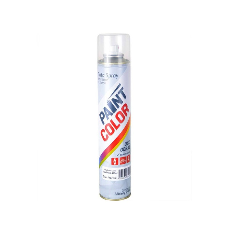 Spray Paintcolor 350Ml Branco Fosco