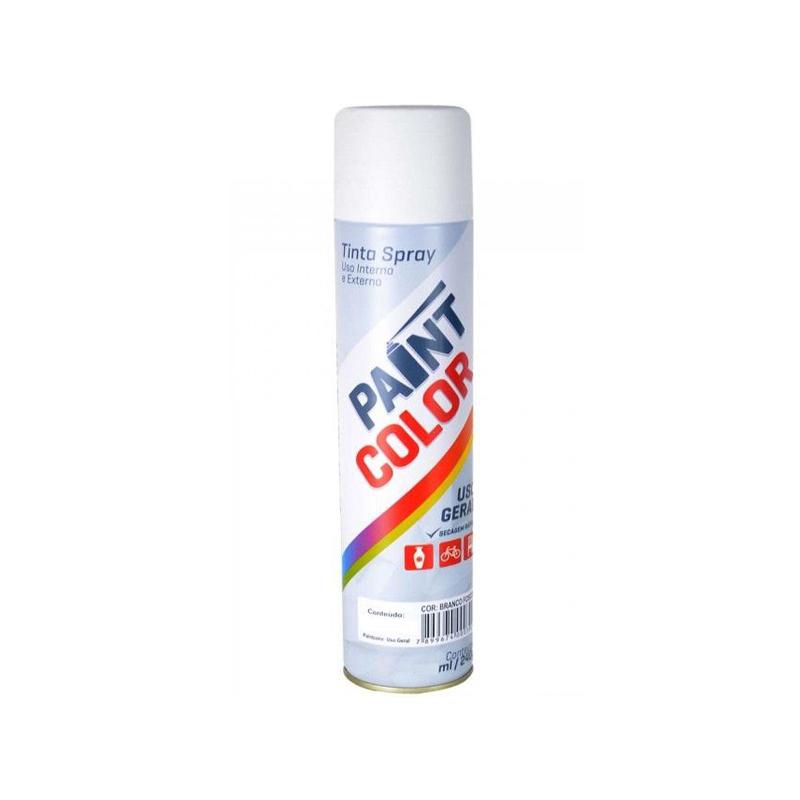 Spray Paintcolor 400mL Branco Fosco