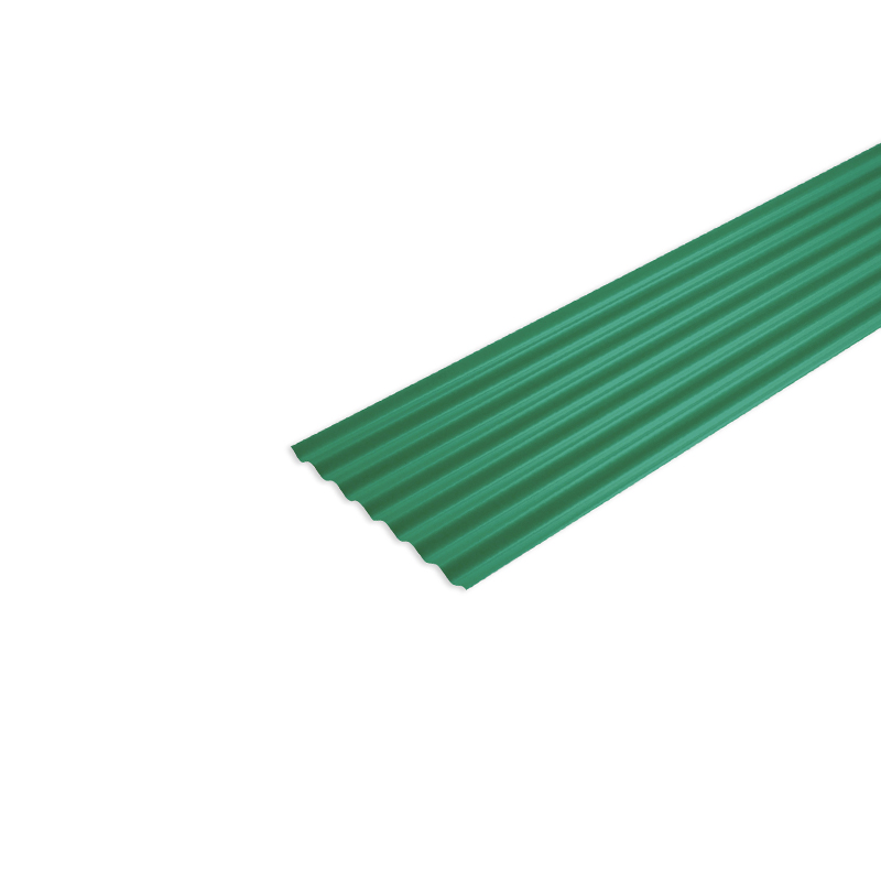 Telha De Fibra 2,44 x 0,50M Verde Fortlev