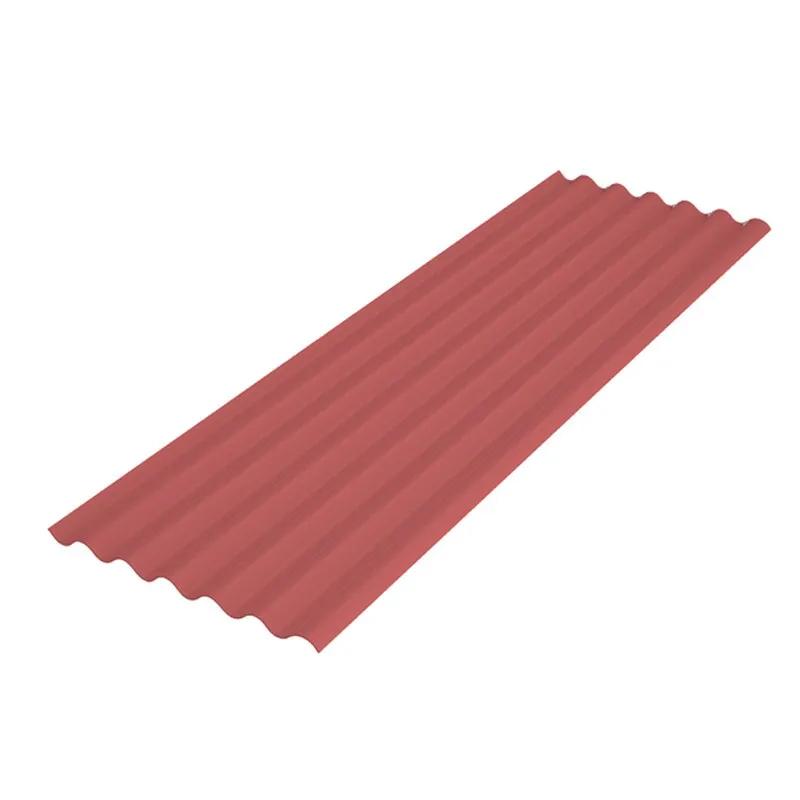 Telha De Fibra 2,44 x 0,50M Vermelho Fortlev