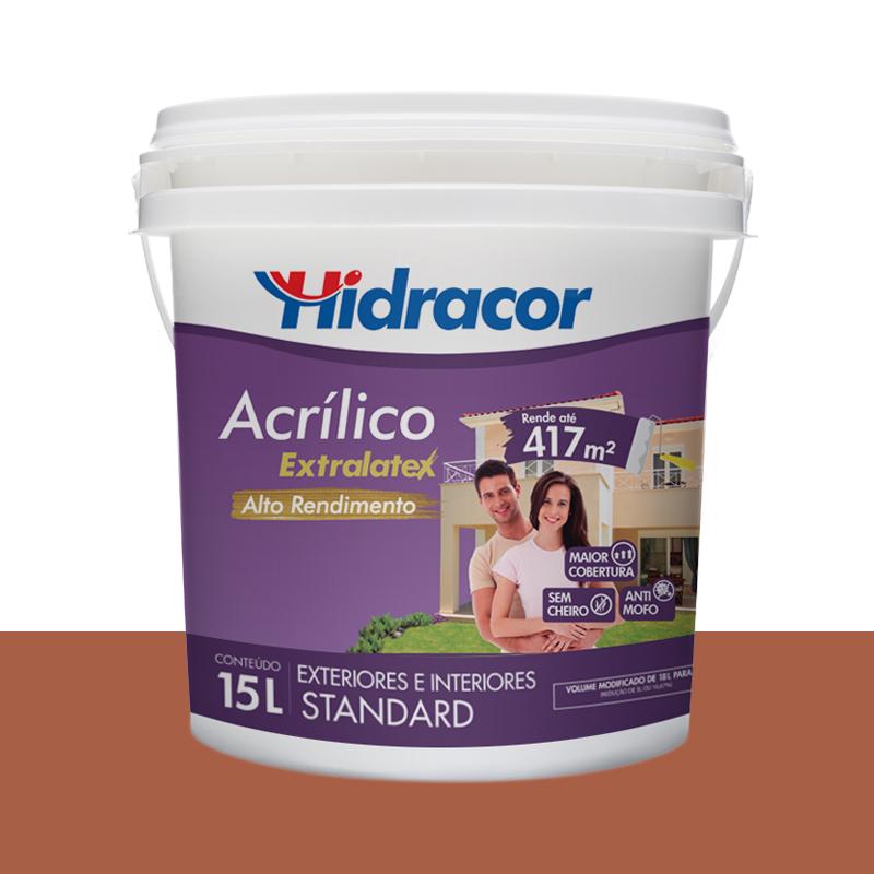 Tinta Acrilica Extralatex Fosca 15L Ceramica Hidracor