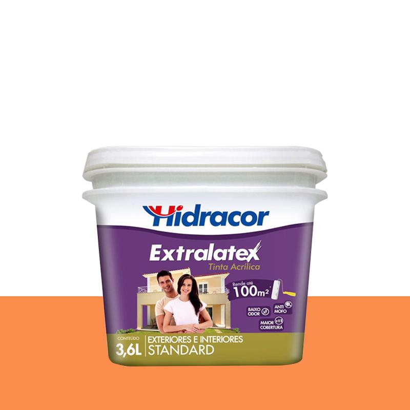 Tinta Acrílica Extralatex Fosca 3,6L Barcelona Hidracor