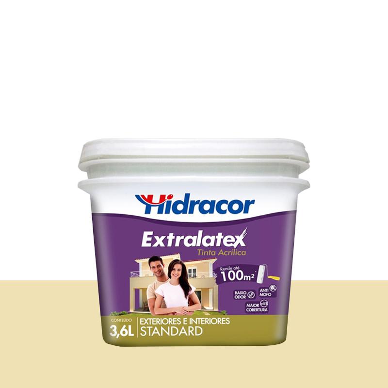 Tinta Acrilica Extralatex Fosca 3,6L Marfim Hidracor