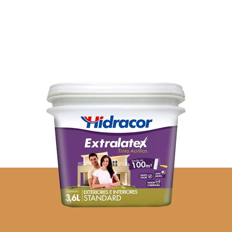 Tinta Acrílica Extralatex Fosca 3,6L Ocre Hidracor