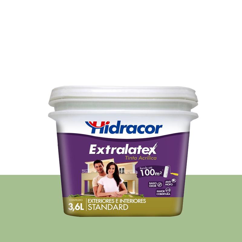 Tinta Acrílica Extralatex Fosca 3,6L Verde Primavera Hidracor