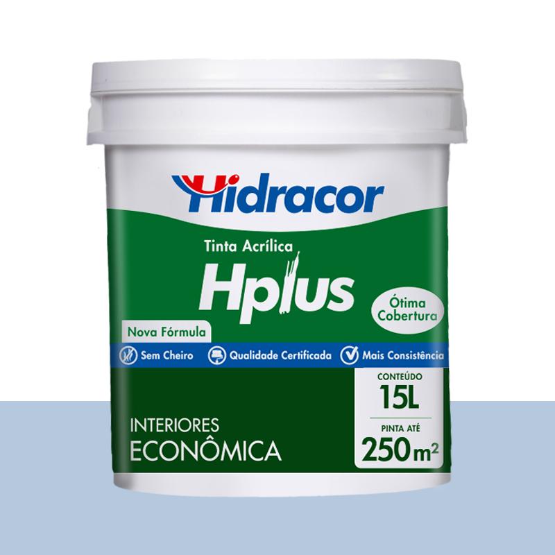 Tinta Acrilica Hplus Fosca 15L Azul Safira Hidracor