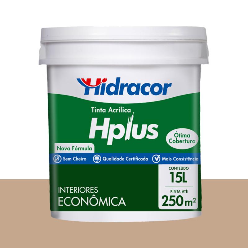 Tinta Acrilica Hplus Fosca 15L Camurça Hidracor