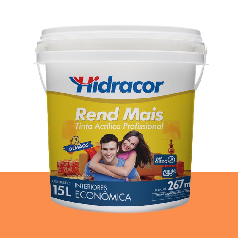 Tinta Acrilica Rendmais Fosca 15L Barcelona Hidracor