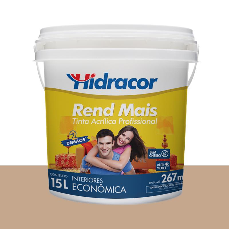 Tinta Acrilica Rendmais Fosca 15L Camurça Hidracor