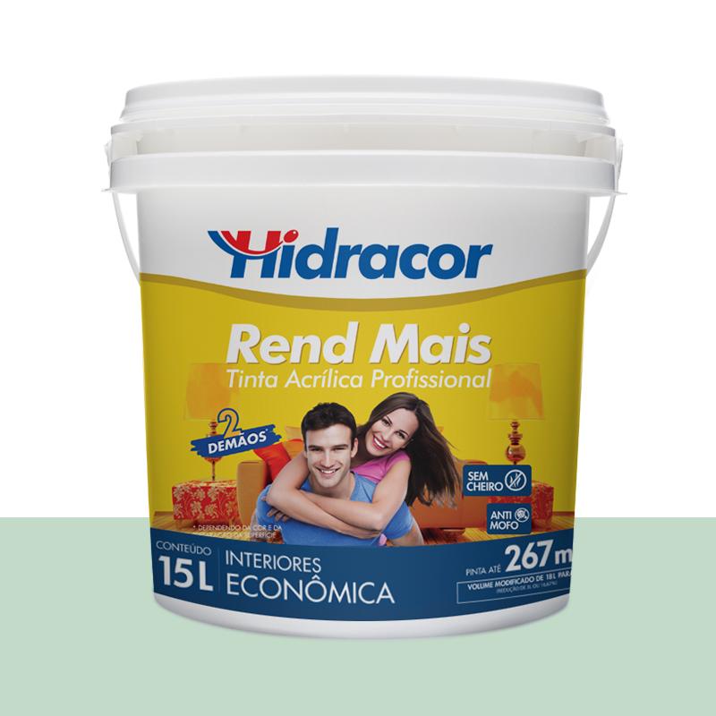 Tinta Acrilica Rendmais Fosca 15L Verde Amazonas Hidracor