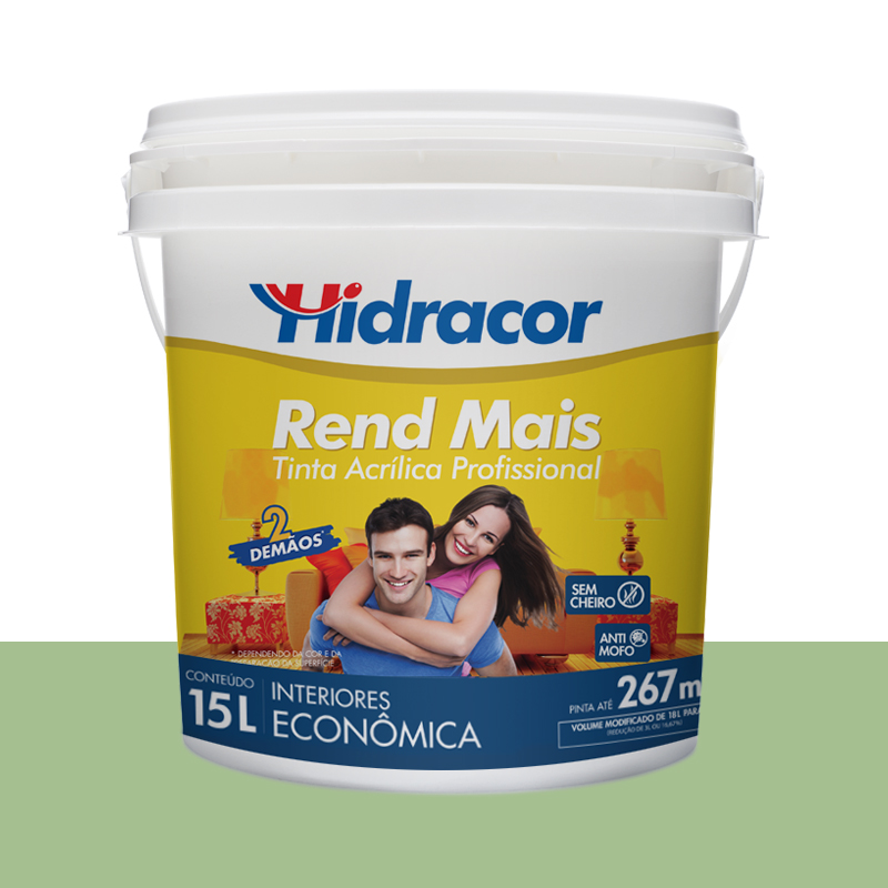 TINTA ACRILICA RENDMAIS FOSCA 18L VERDE PRIMAVERA