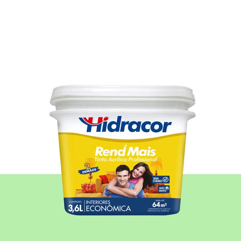 Tinta Acrilica Rendmais Fosca 3,6L Malva Hidracor