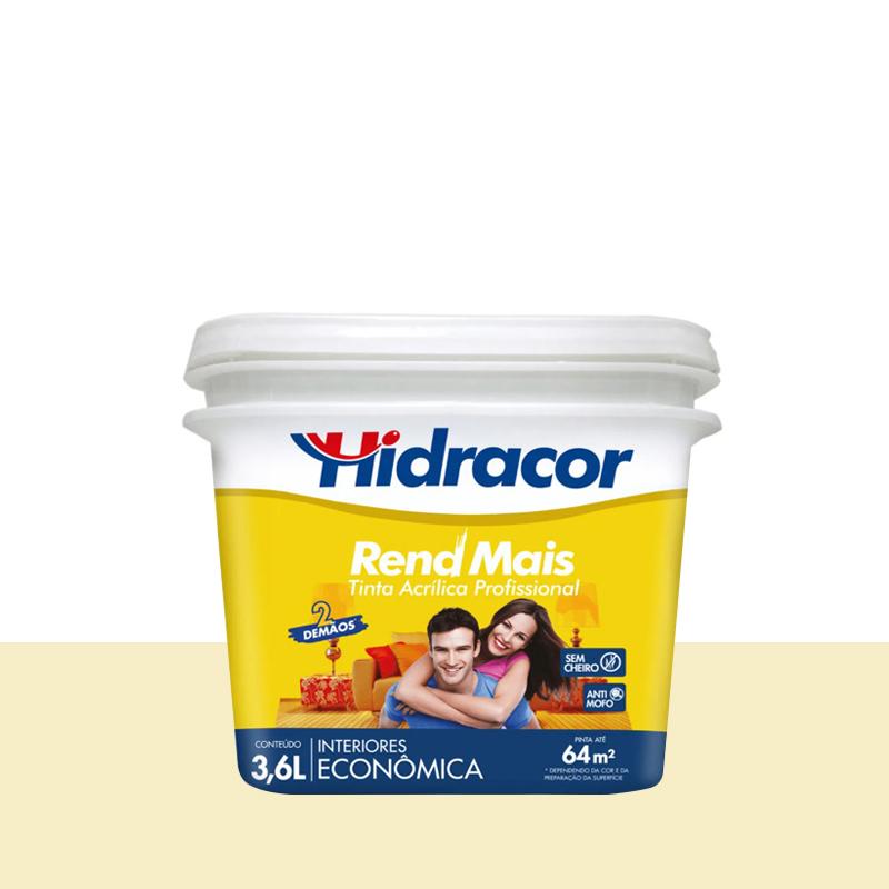Tinta Acrilica Rendmais Fosca 3,6L Perola Hidracor