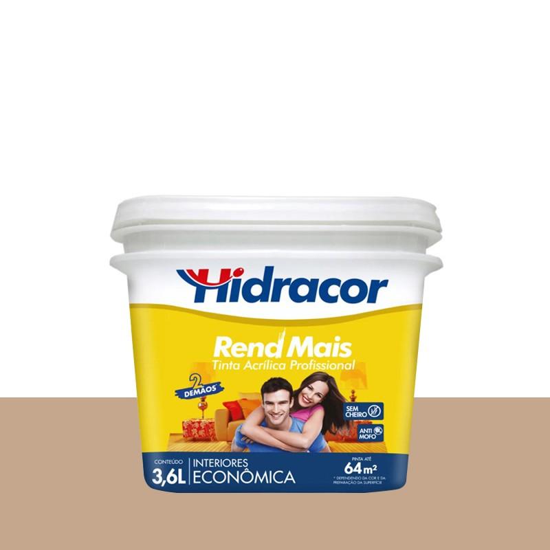 Tinta Acrilica Rendmais Fosco 3,6L Camurça Hidracor