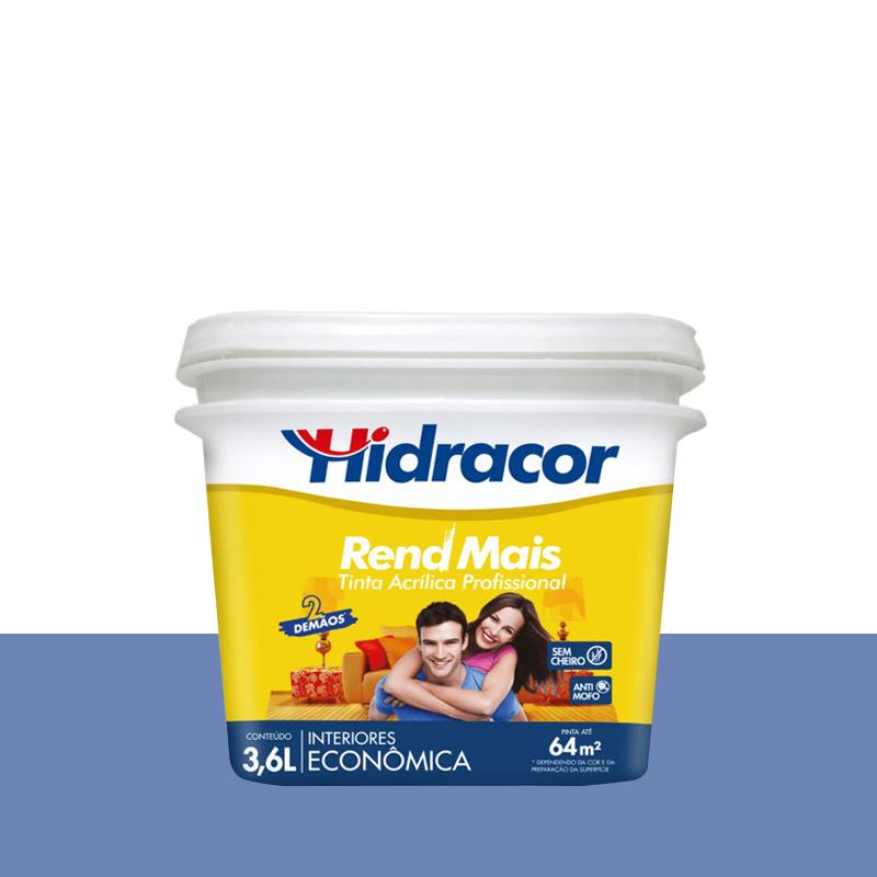 Tinta Acrilica Rendmais Fosco 3,6L Lilas Hidracor