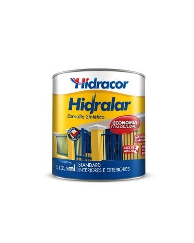 Tinta Esmalte Hidralar 112,5Ml Preto Hidracor
