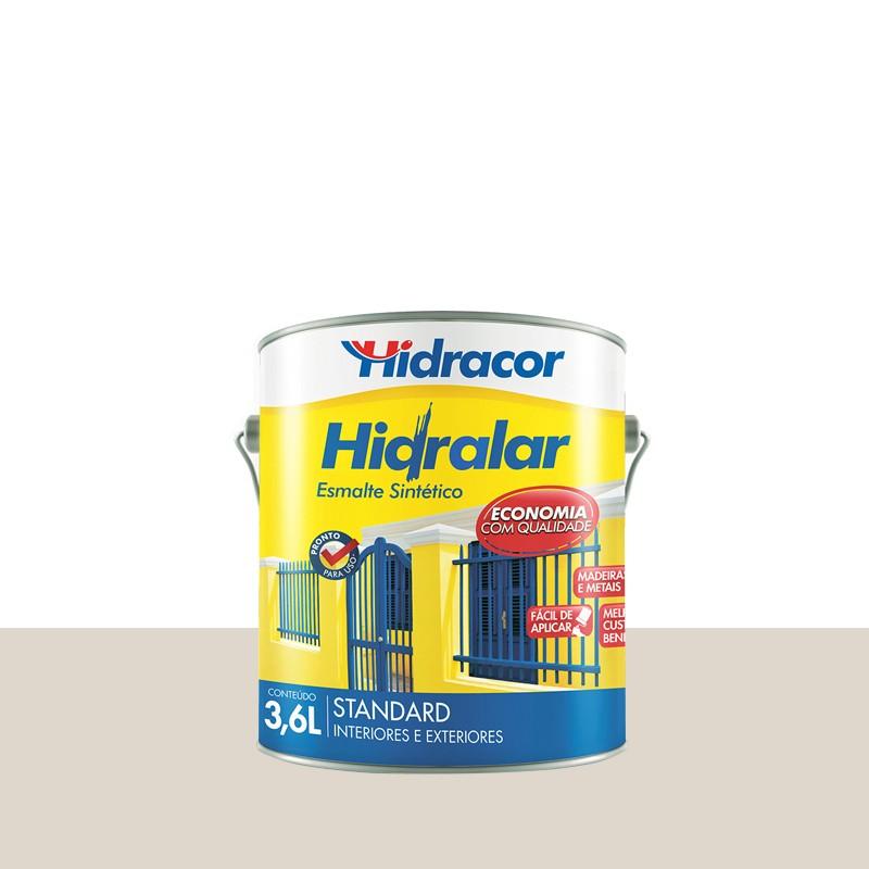 Tinta Esmalte Hidralar 3,6L Branco Gelo Hidracor