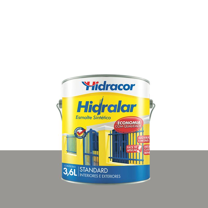 Tinta Esmalte Hidralar 3,6L Cinza Medio Hidracor