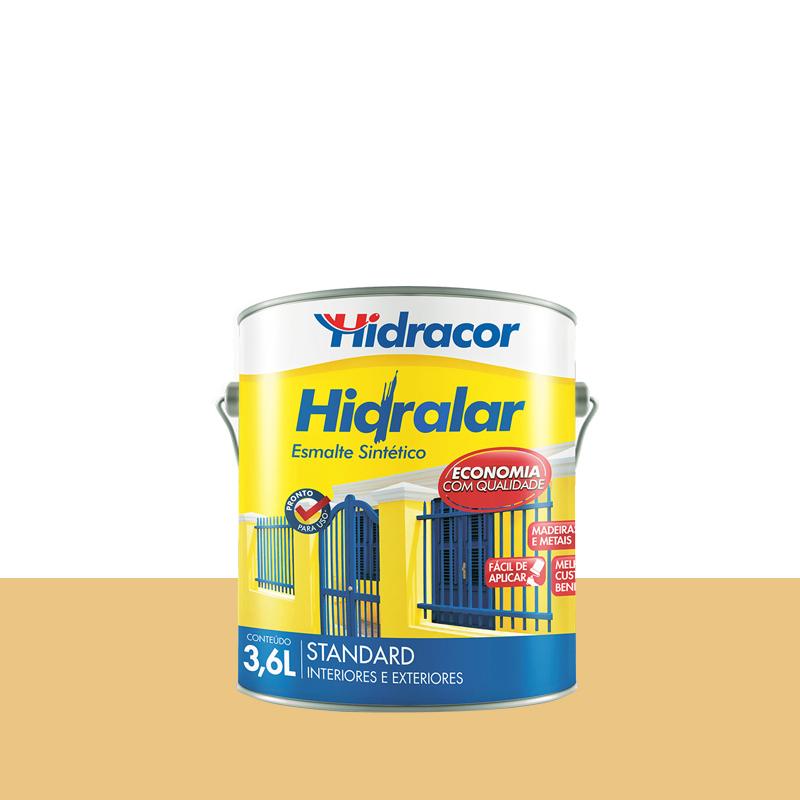 Tinta Esmalte Hidralar 3,6L Creme Hidracor