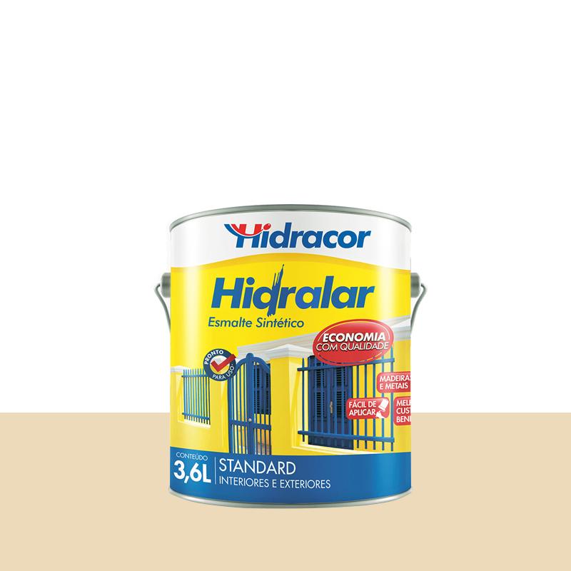 Tinta Esmalte Hidralar 3,6L Marfim Hidracor