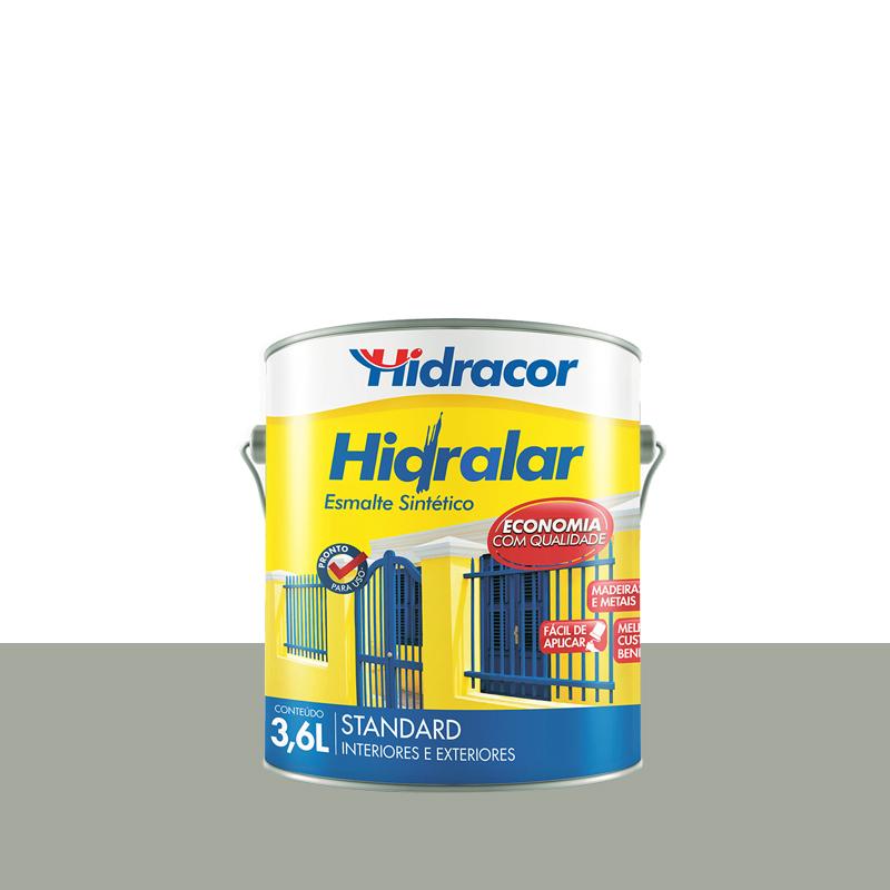 Tinta Esmalte Hidralar 3,6L Platina Hidracor