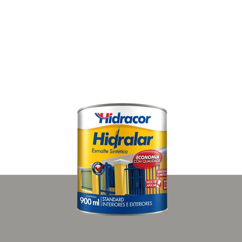 Tinta Esmalte Hidralar 900mL Cinza Medio Hidracor