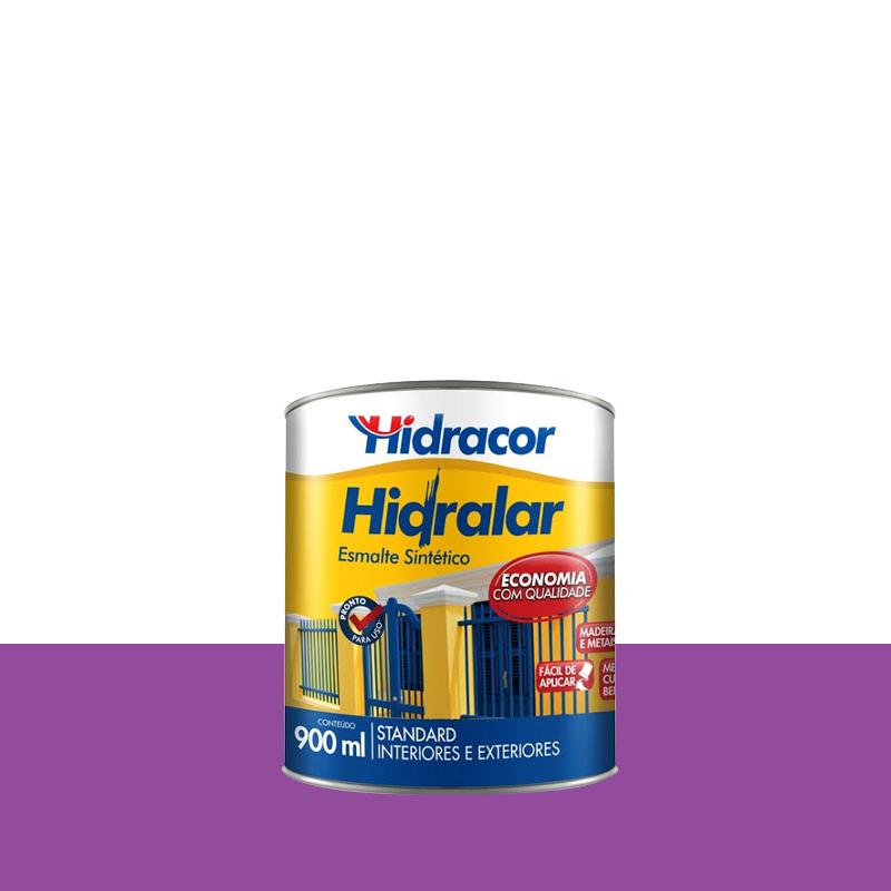 Tinta Esmalte Hidralar 900mL Lilas Hidracor