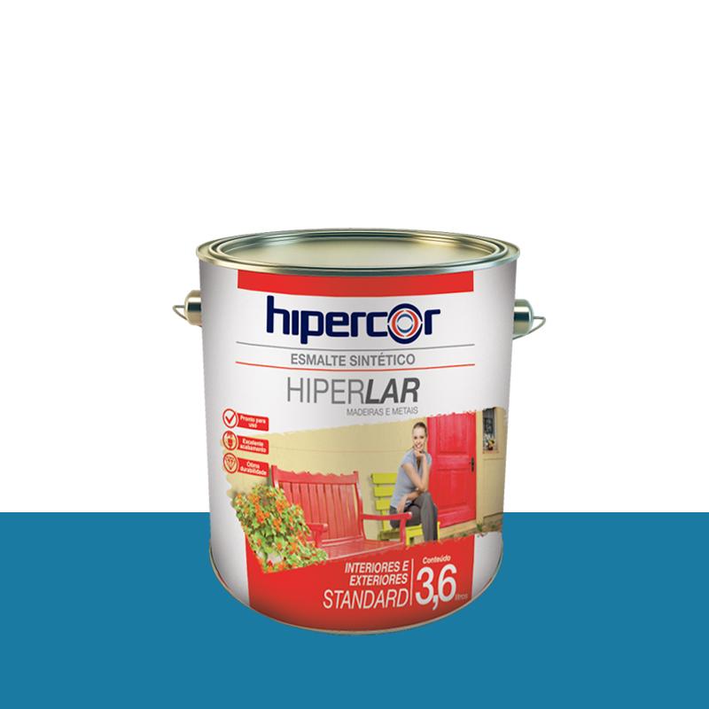 Tinta Esmalte Hiperlar 3,6 Azul Mar Hipercor