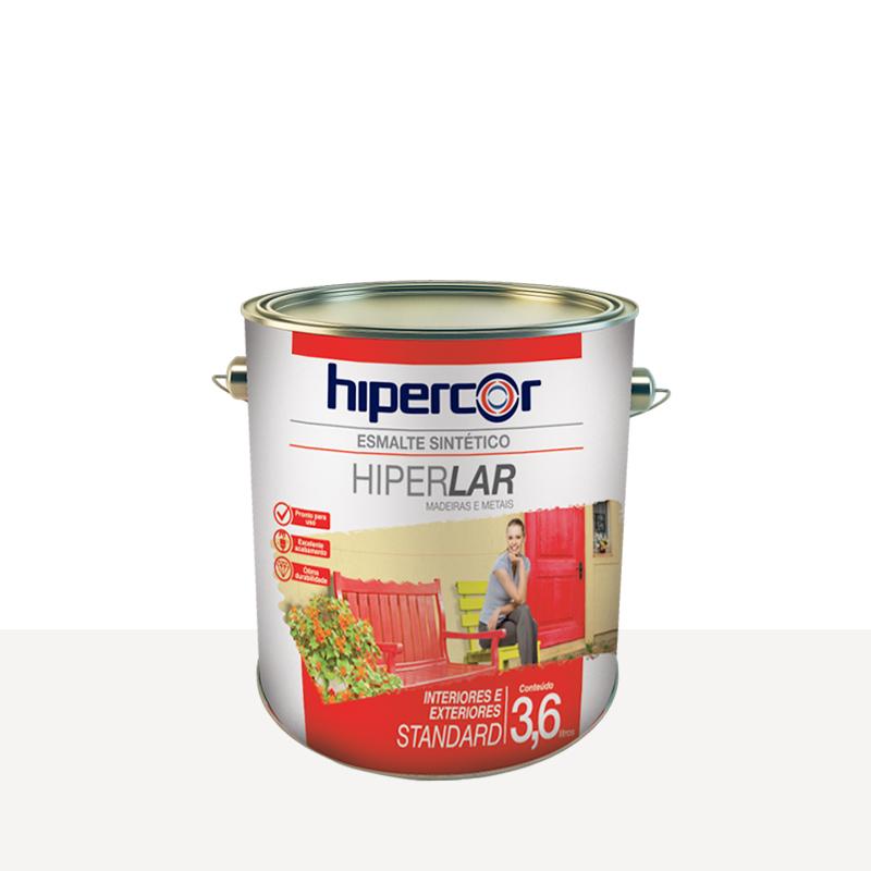 Tinta Esmalte Hiperlar 3,6L Branco Hipercor