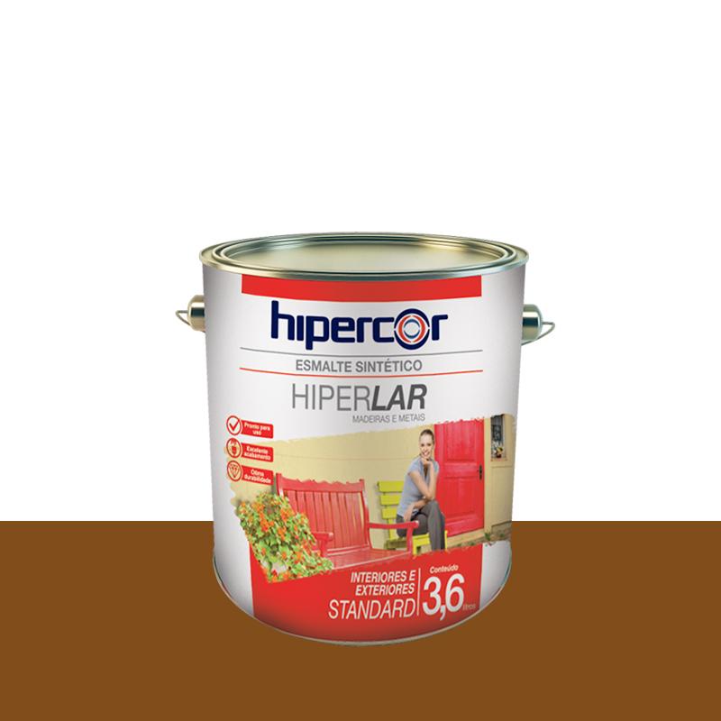 Tinta Esmalte Hiperlar 3,6L Conhaque Hipercor