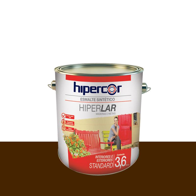 Tinta Esmalte Hiperlar 3,6L Tabaco Hipercor