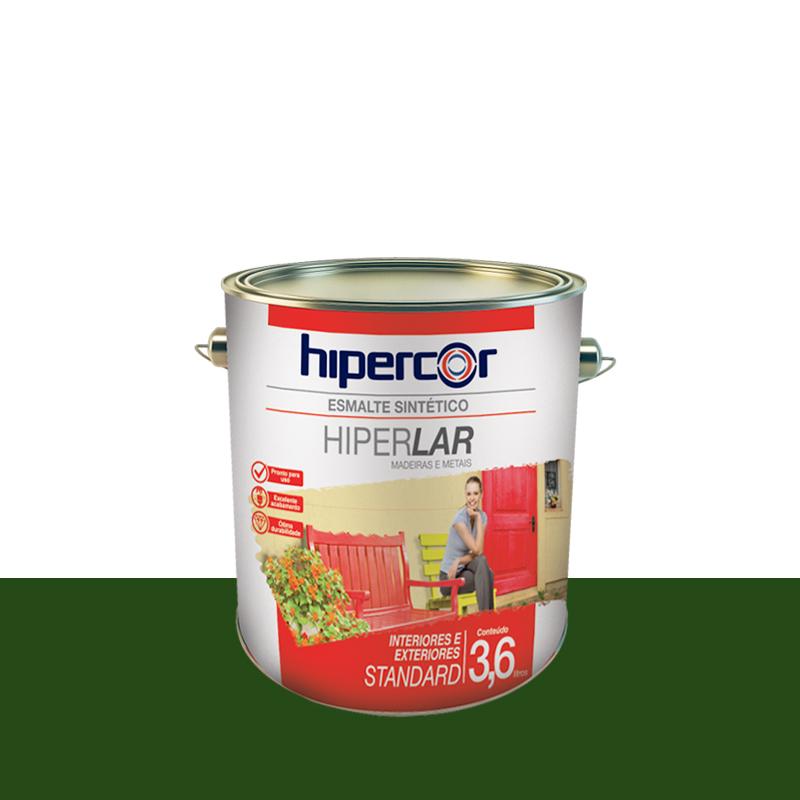Tinta Esmalte Hiperlar 3,6L Verde Folha Hipercor