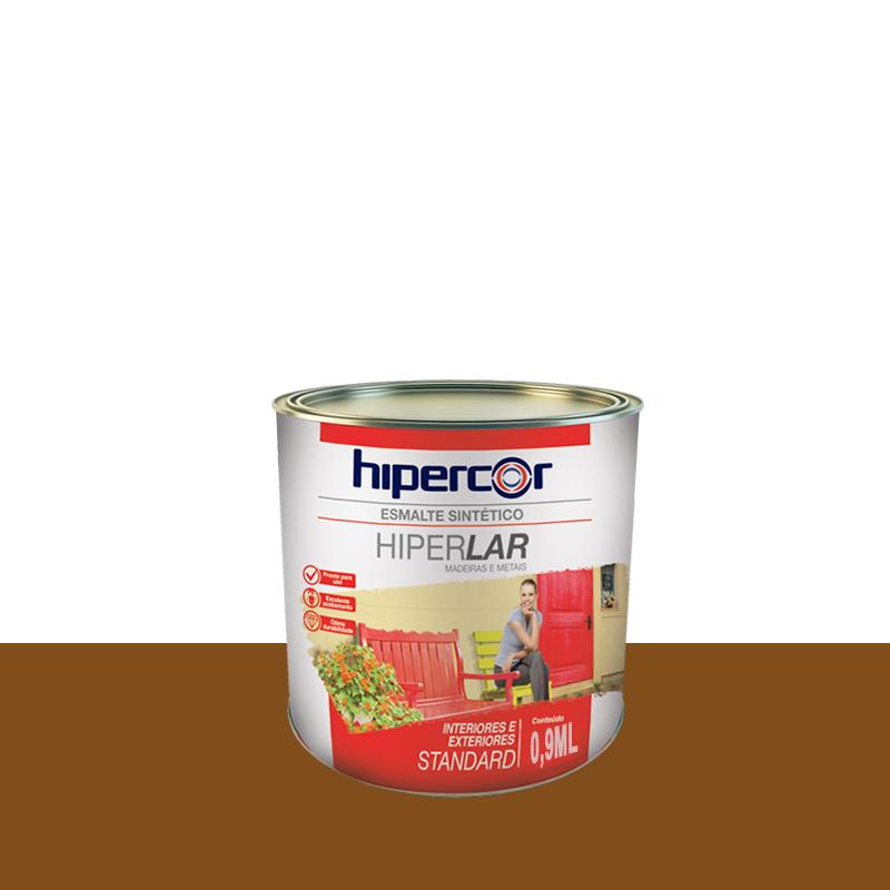Tinta Esmalte Hiperlar 900mL Conhaque Hipercor