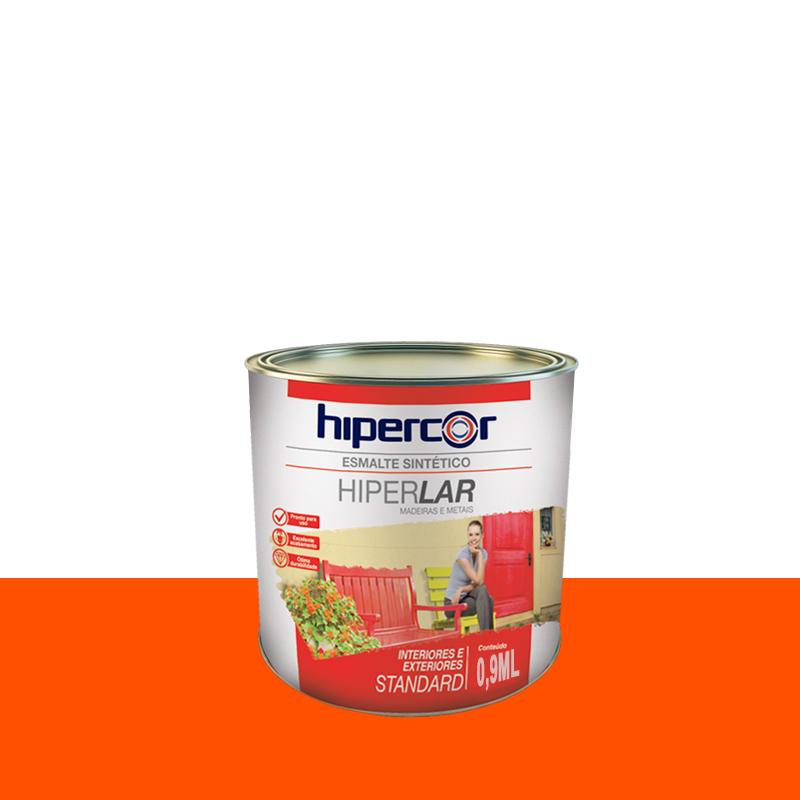 Tinta Esmalte Hiperlar 900mL Laranja Hipercor