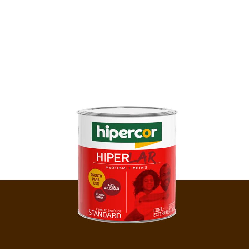 Tinta Esmalte Hiperlar 900mL Tabaco Hipercor