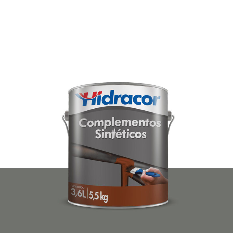 Tinta Hfer Antiferrugem 3,6L Cinza Hidracor