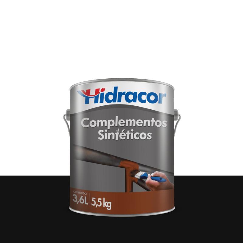 Tinta Hfer Antiferrugem 3,6L Preto Hidracor